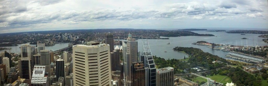 Northern View from Sydney Tower