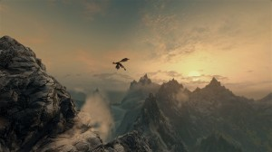 The Sky from Skyrim