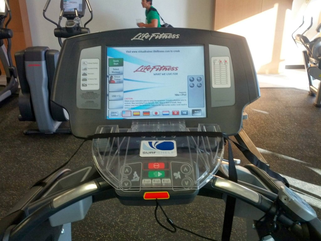 Treadmill with Surfdesk