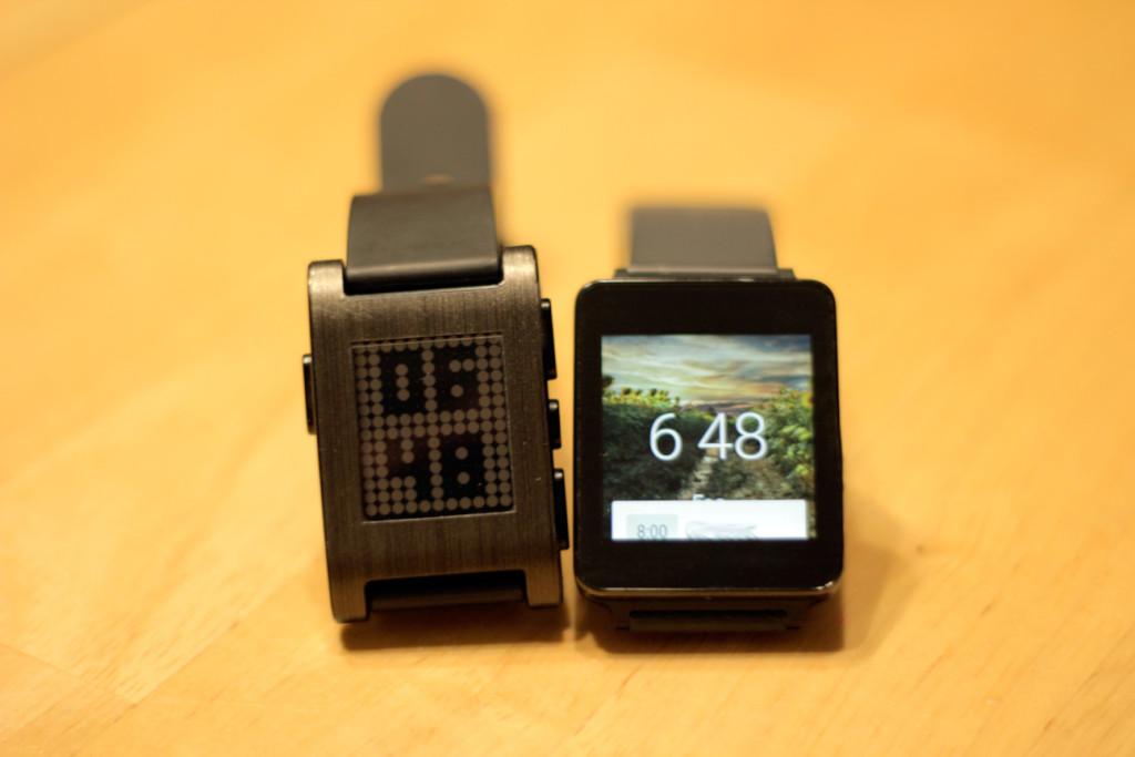 Pebble vs. Android Wear